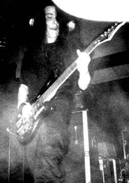 Qojau during Imperial gig in 1998.