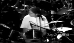 Stephane Quay, live drummer of Imperial during 1998
